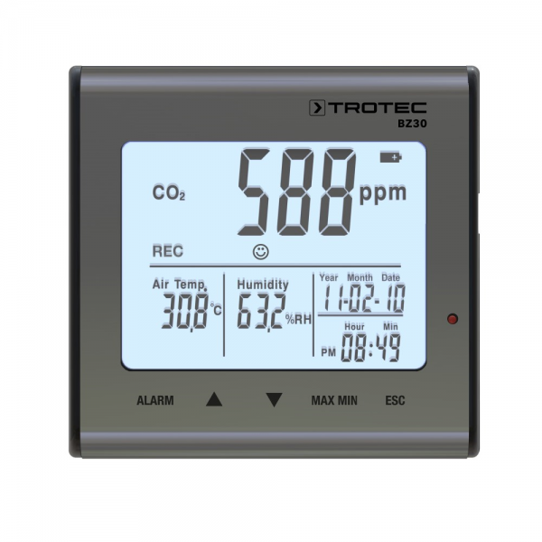 BZ30 CO2 Air Quality Data Logger