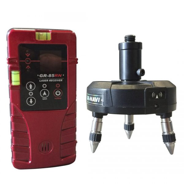 Base & Receiver, red beam line laser