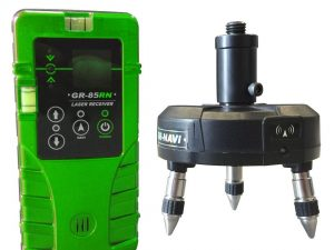 Base & Receiver, green beam line laser