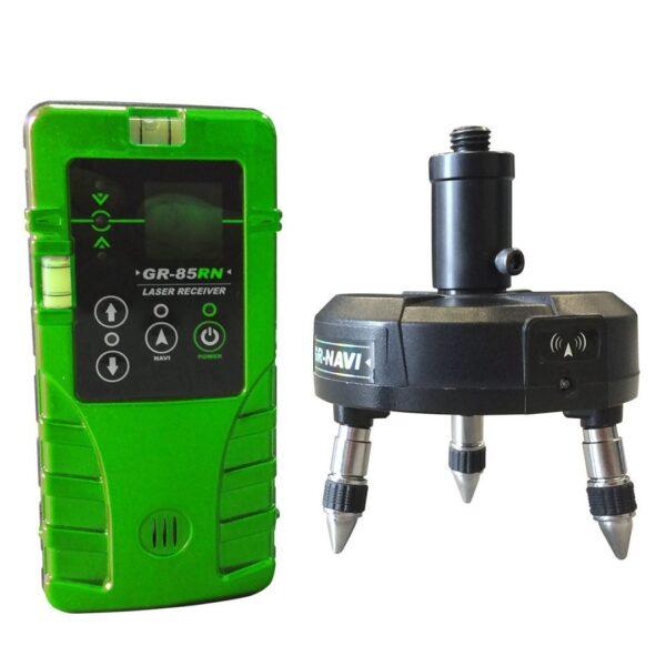 Base & Receiver, green beam line laser