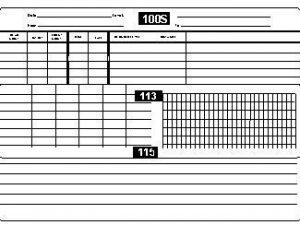 Markrite MKS113 Spiral Bound Field Book
