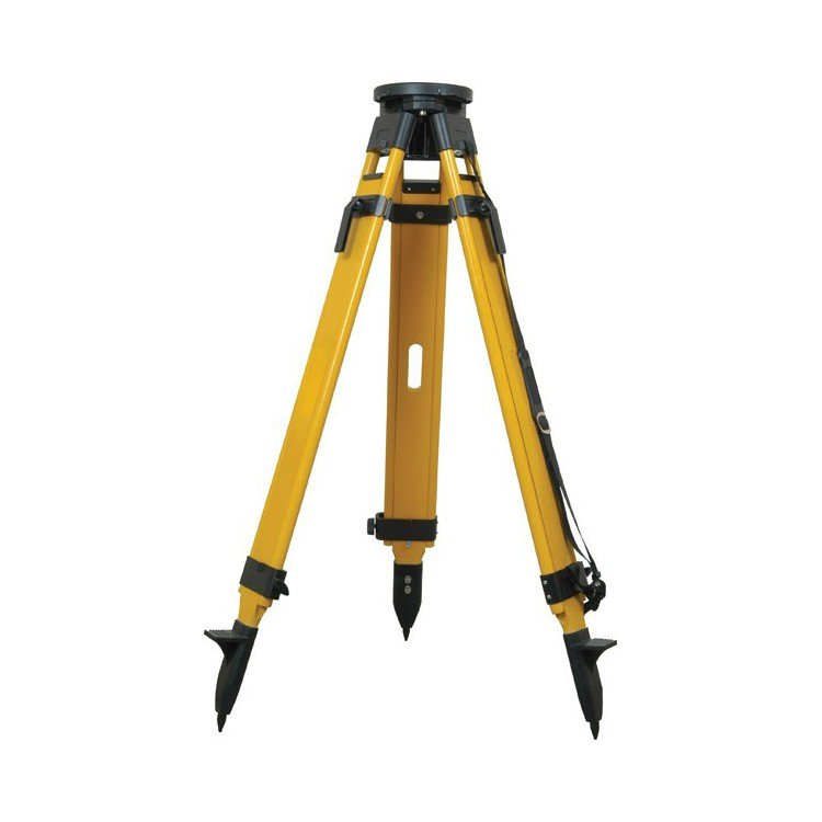 Seco Tripod Birchwood Dual Lock Round Head