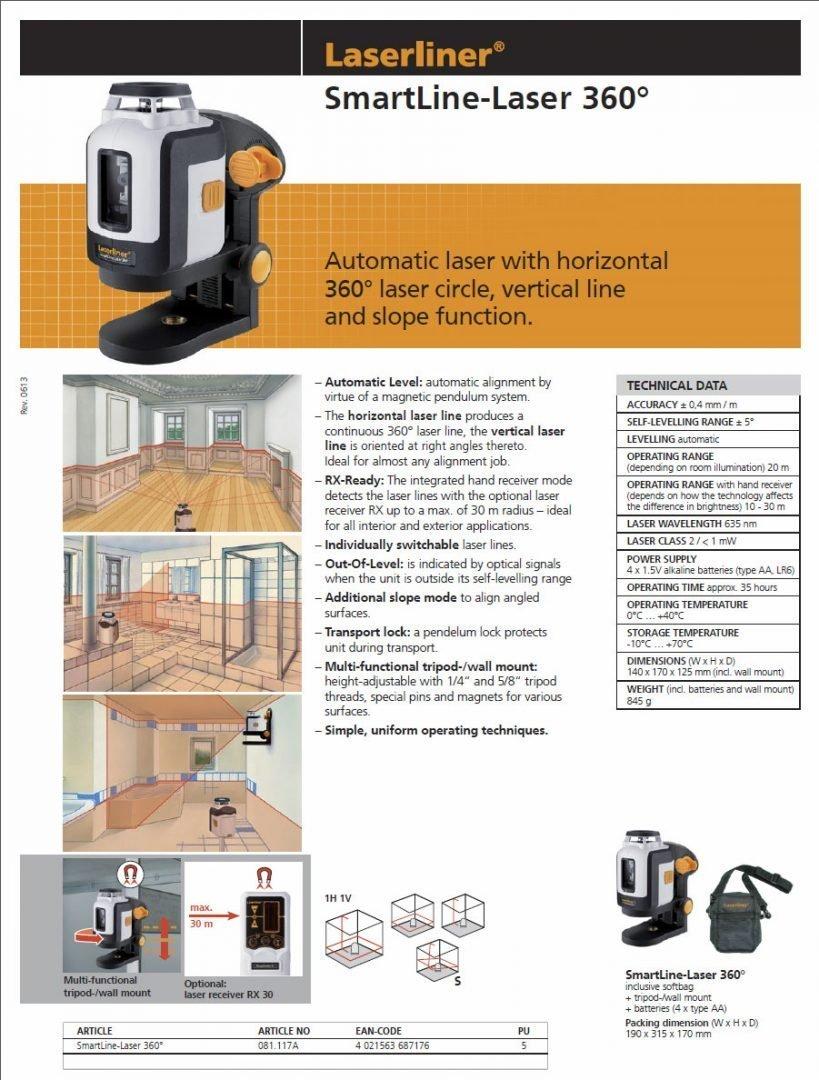 Laser Liner Brochure