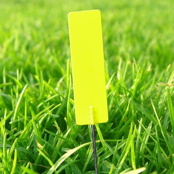 Pin markers Yellow