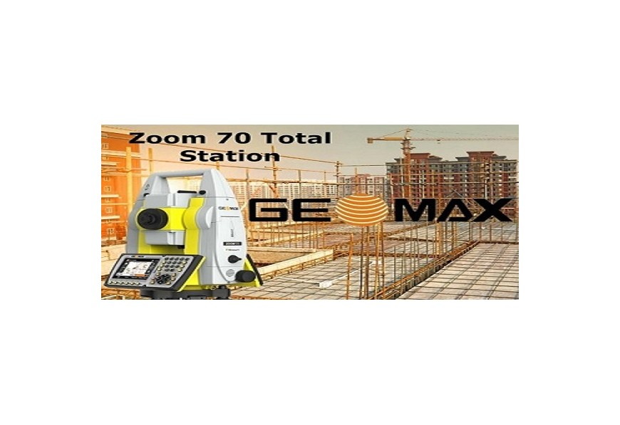 NEW Geomax Zoom70 Robotic Total Station has been Released