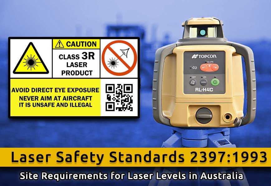 Safe use of lasers in the building and construction industry
