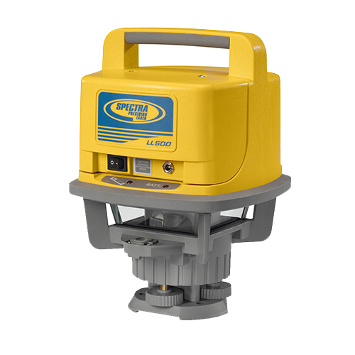 LL500 Laser Level From Spectra Precision
