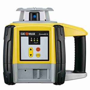 Geomax Zone 40H Laser Level with Pro Rec Alkaline Bat
