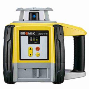 Geomax Zone 40H Laser Level with Pro Rec Alkaline Bat