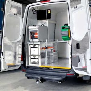 Pipe Inspection Van Conversion System