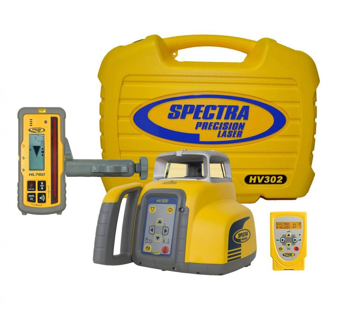 HV302 Laser Level From Spectra Precision