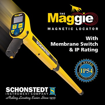 Schonstedt Maggie Magnetic locator at cody
