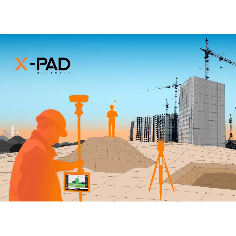 GeoMax X-PAD Field Genius (GNSS, TPS & Robotic)