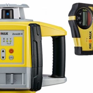 Geomax Zone 20H Laser Level with ZRB35 Rec & Alk Battery