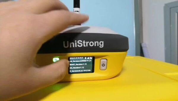 G990 GNSS Receiver buttons