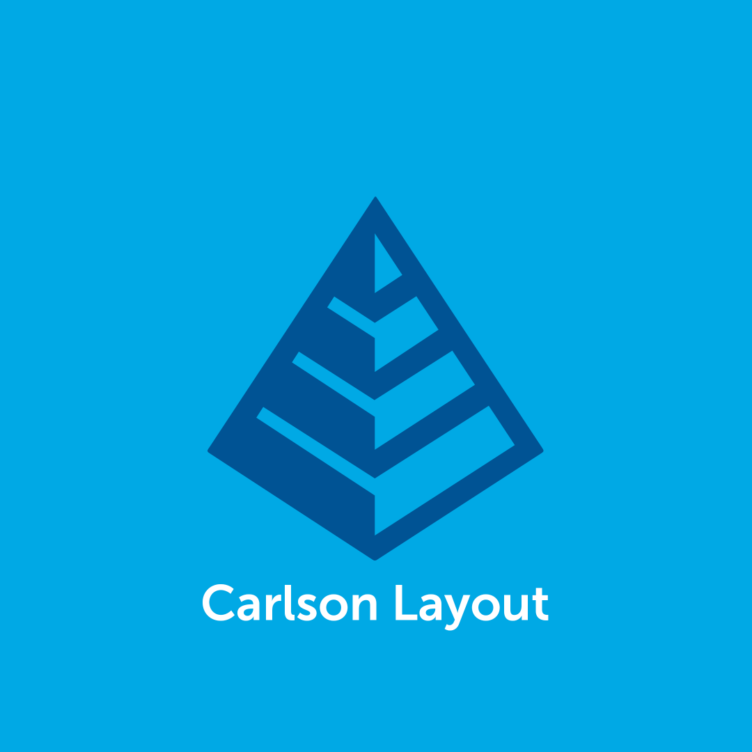 Carlson Layout Software
