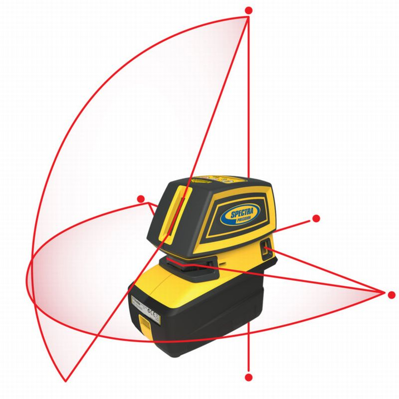 LT52R Point & Crossline Laser from Spectra Precision